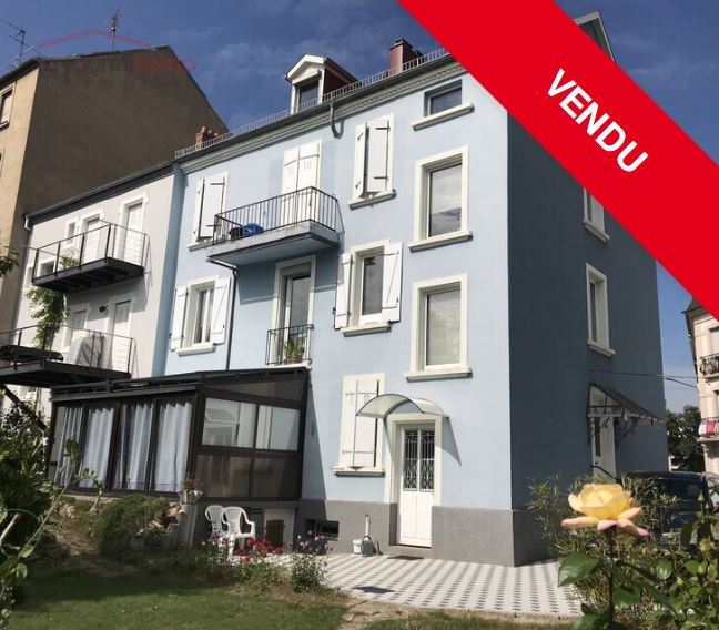 Immeuble 4 appartements F4, 68200 Mulhouse