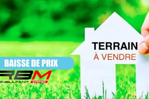 terrain a vendre - RBM Immo