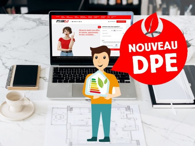 Nouveau DPE - RBM IMMOBILIER ENSISHEIM 68 Pulversheim Maison et appartement
