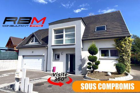 Maison contemporaine 4 pièces 68840 Pulversheim, 429 000 € Haut-Rhin